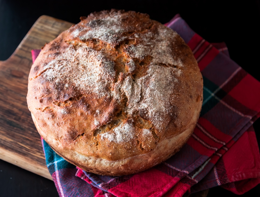 chleb bez zagniatania 022