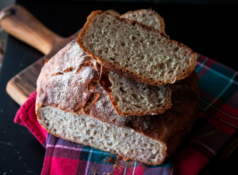 chleb bez zagniatania 048